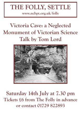 'Victoria Cave: a Neglected Monument of Victorian Science', poster  (JPG, 30Kb)