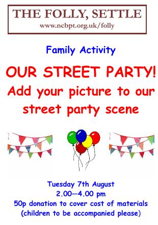 Our Street Party!, poster  (JPG, 30Kb)