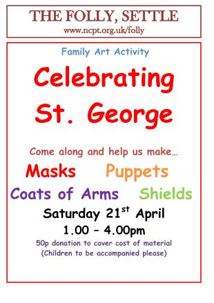 St George's Day event,21 April 2012, poster  (JPG, 28Kb)
