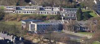 Photo: School (11) (JPG 56Kb); View of the College from the hill in 2007 (repeating one taken 25 years earlier).  There are over 40 teachers and a similar number of clerical and technical staff and those providing teaching support, caterers and cleaners.