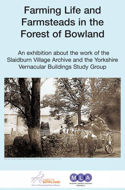 Poster for Bowland Exhibition (JPG, 57Kb).  Click on the image for larger view in new browser window (817Kb)
