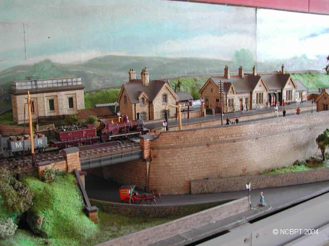 model of Settle Station (49Kb); click on image for larger view (450Kb) in new browser window